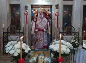 Photo of Bishop of Corfu Mr. Nektarios: The natural place of praying is the Divine Liturgy