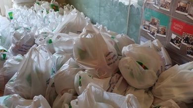 Photo of FOOD BASKETS TO 300 FAMILIES GIVEN BY THE HOLY METROPOLIS FOR THE EASTER
