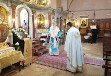 Photo of THE BISHOP OF CORFU IN THE CHURCH OF SAINTS JASON AND SOSIPATROS