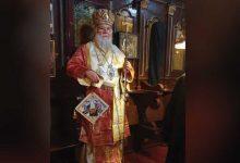 Photo of THE BISHOP OF CORFU IN THE MONASTERY OF PALAIOKASTRITSA