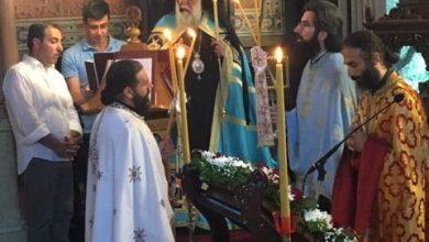 "Photo of Bishop of Corfu,Mr. Nektarios: ""Church is the laboratory of Holiness"""