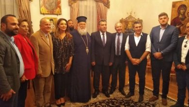 Photo of Τhe Under-Secretary of Tourism visits the Bishop of Corfu