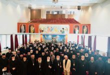 """Photo of Archbishop of Albania, Mr. Anastasios: """"What we still require is the Sanctification and Theosis of humans."""""""
