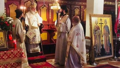 """Photo of Bishop of Corfu: """"Connecting element of our society is the Institution of Church"""""""