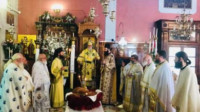 """Photo of Bishop of Corfu, Mr. Nektarios"""" Let's not neglect the gifts given to us by God"""""""