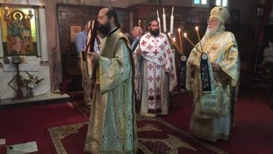 """Photo of Bishop of Corfu, Mr. Nektarios """"Life without God is meaningless"""" Press Team Send an email17/11/2019"""