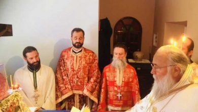 "Photo of Bishop of Corfu, Mr. Nektarios: ""Saint Dimitrios attracted Holy Grace in his life"""