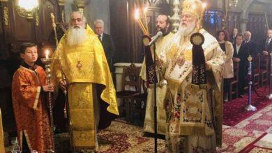 "Photo of Bishop of Corfu, Mr. Nektarios: ""The modern descendants of Herodes work to make Greece spiritually neutral."""