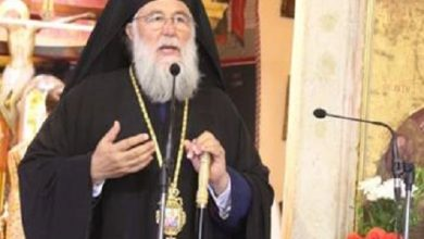 Photo of Bishop of Corfu, Mr. Nektarios: The Holy Three Hierarchs resisted the authority and said yes to the Truth