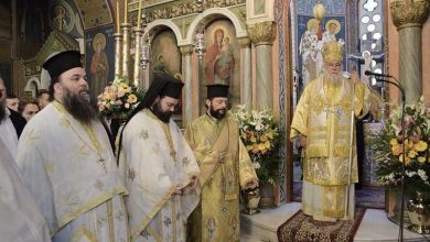 Photo of Glorious Divine Liturgy in the church of Saint Foteini in Ymittos