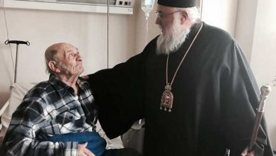 Photo of His Eminence visits the General Hospital of Corfu