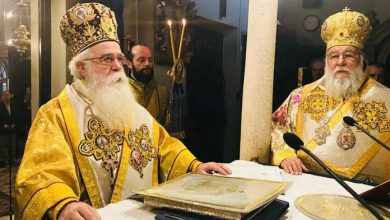 Photo of Panegyrical Divine Liturgy in the Holy Church of St. Spyridon.