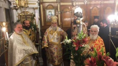 Photo of Religious, TheologicalSermons His Eminence visits the village of Stavros
