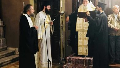 Photo of Requesting Prayer for the candidates of the Panhellenic exams in the Holy Metropolis of Corfu