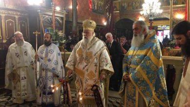 Photo of Saint Varvaros's celebration in the Holy Metropolis of Corfu