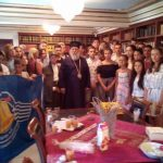 Students of the Patriarchate of Serbia visit the Bishop of Corfu