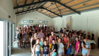 Photo of THE MONASTERY OF VATOPEDI SUPPORTS THE CAMPING OF THE HOLY METROPOLIS OF CORFU