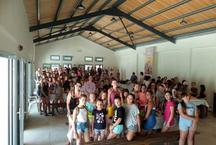 THE MONASTERY OF VATOPEDI SUPPORTS THE CAMPING OF THE HOLY METROPOLIS OF CORFU