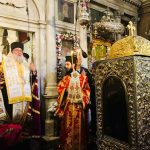The Basmata (re-entrance of the relic in its place) of Saint Spyridon