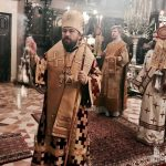 The Bishop of Volokolamsk Mr. Ilarion in Corfu