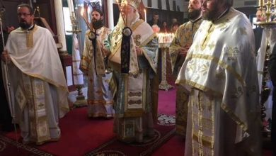 Photo of The Feast of the Entrance of the Theotokos in the Temple celebrated in Corfu