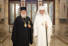 Photo of The Patriarch of Romania worshipped Saint Spyridon