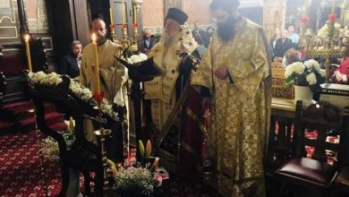 Photo of The Second Part and Small Compline of the Akathist Hymn in the Holy Metropolis of Corfu