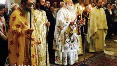 Photo of The celebration of Saint Jason and Sosipater's memory in the Holy Metropolis of Corfu