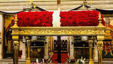 Photo of Traditional Epitaphs of the Holy Churches in the old town of Corfu