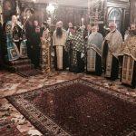 Vesper of Palm Sunday in Corfu