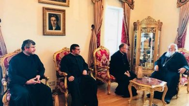 Photo of Visit of his Eminence the Bishop of Michaloupoli and Kassovia, Mr. Georgios to the Bishop of Corfu