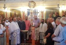 """Photo of BISHOP OF CORFU, MR. NEKTARIOS: """"THERE IS ALSO THE VIRUS OF HYPOCRISY IN OUR TIMES"""""""