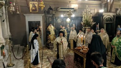 Photo of THE VESPER OF THE FIRST SUNDAY IN CORFU