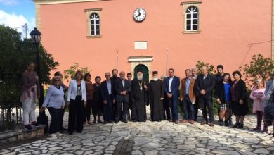 Photo of BISHOP OF CORFU,MR. NEKTARIOS: SERVICES AND CHURCH HAVE THE BLESSING OF THE HOLY SPIRIT