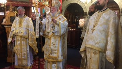 Photo of BISHOP OF CORFU, MR. NEKTARIOS: We should overcome the obstacles in order to meet Christ