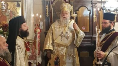 Photo of BISHOP OF CORFU, MR. NEKTARIOS: AT HUMANITY'S STAGNATION, WE ANSWER WITH REPENTANCE