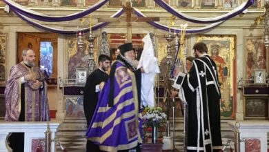 Photo of The service of Christ's burial in the Holy Metropolis of Corfu