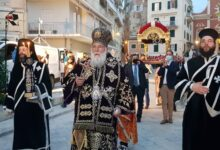 Photo of THE SERVICE OF THE EPITAPH IN THE HOLY METROPOLIS OF CORFU