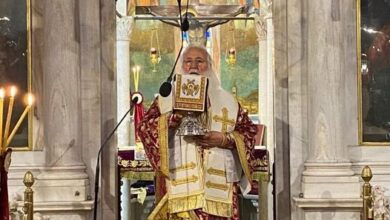 """Photo of BISHOP OF CORFU, Mr. NEKTARIOS: 'THE NORMALITY OF CHRISTIANS IS THE LOVE AND HOPE OF THE RESURRECTION"""""""